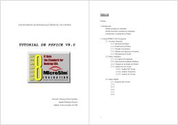 TUTORIAL DE PSPICE V8.0