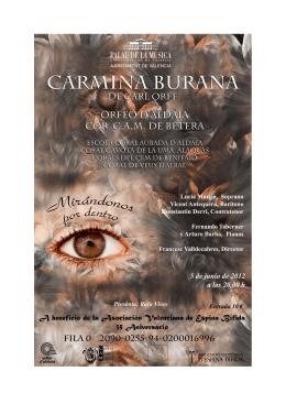 CARMINA BURANA (Carl Orff 1895