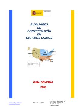 AUXILIARES DE CONVERSACIÓN EN ESTADOS UNIDOS