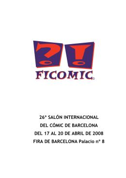 26º SALÓN INTERNACIONAL DEL CÓMIC DE