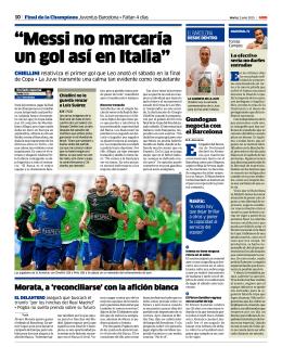 """""""Messi no marcaría un gol así en Italia"""""""