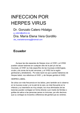 176 INFECCION POR HERPES VIRUS