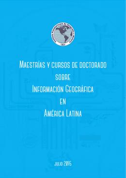 Maestrías y cursos de doctorado sobre Información