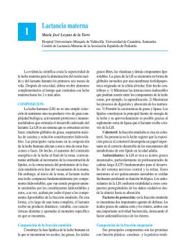 Lactancia materna - Asociación Española de Pediatría