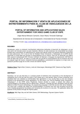 articulo tecnico - Repositorio Digital ESPE