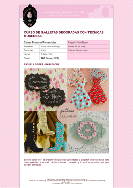Galletas decoradas modernas