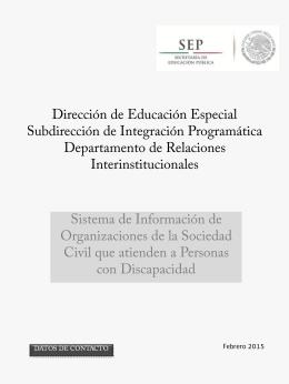 Diapositiva 1 - Dirección de Educación Especial