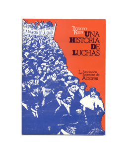 Los actores y el Estado - Asociación Argentina de Actores