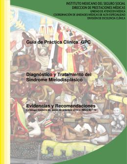 Guía de Práctica Clínica GPC Diagnóstico y Tratamiento del