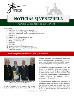 Noticias SJ 15 de octubre 2014