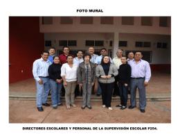 FOTO MURAL - Gobierno del Estado de México
