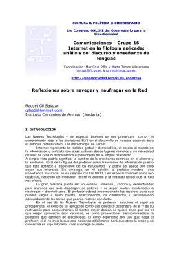versión pdf - Observatorio para la Cibersociedad, OCS