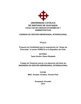 TT Diana Tapia - Universidad Católica de Santiago de Guayaquil
