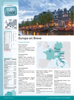 Europa en Breve - Viajes Tabasco
