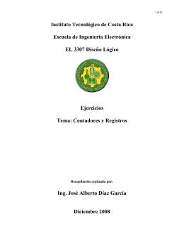 Contadores y R - Escuela de Ingeniería Electrónica