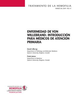 Enfermedad de von Willebrand: Introducción para médicos