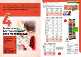 Materiales y herramientas para manualidades