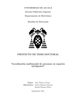 Jose Velasco PhD Proposal