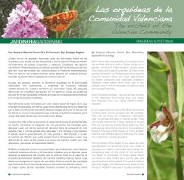 Las orquideas de la Comunidad Valenciana