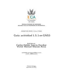 Guía Práctica GNS3