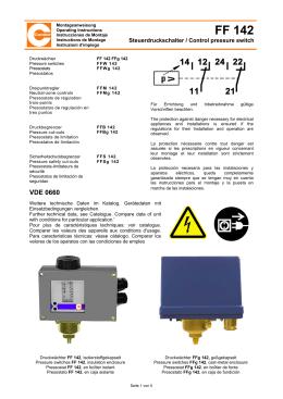 FF 142 - Condor-Werke Gebr. Frede GmbH & Co. KG