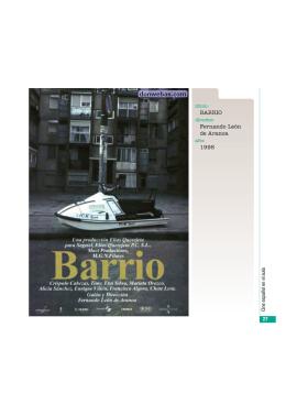 BARRIO Fernando León de Aranoa 1998