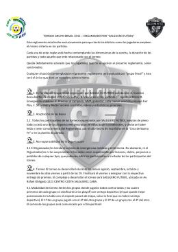 Reglamento - Los ganadores del Premio Integración Grupo Brasil