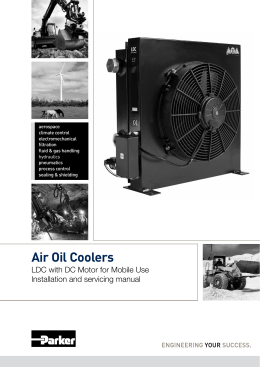 Air Oil Coolers