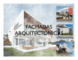 FACHADAS ARQUITECTONICAS