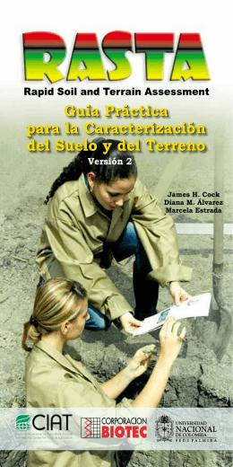 Guía Práctica para la Caracterización del Suelo y del Terreno
