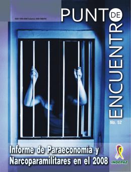 Informe de Paraeconomía y Narcoparamilitares en el 2008