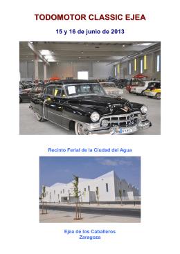 Descargar dossier Todomotor Classic Ejea 2013