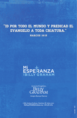 mateo y sus amigos - My Hope with Billy Graham