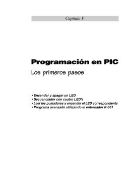 Primeros ejemplos de programación