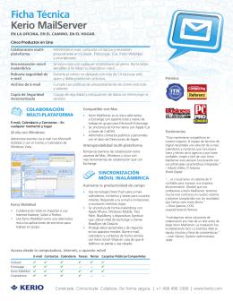 Kerio WinRoute Firewall 6 Datasheet