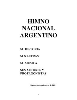 Himno Nacional Argentino - Su Historia