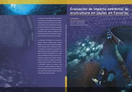 Evaluación de impacto ambiental de acuicultura en jaulas