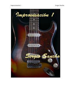 Improvisación 1 Sergio Sancho