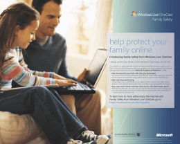 Family Safety Poster MP6 - AAP SafetyNet