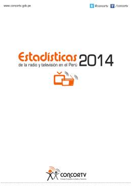 Estadísticas de la Radio y Televisión 2014