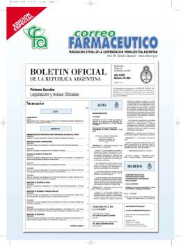 Farmacéutico - Confederación Farmacéutica Argentina
