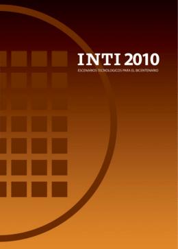 Asistencia técnica - Instituto Nacional de Tecnología Industrial