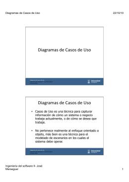 Diagramas de Casos de Uso Diagramas de Casos de Uso