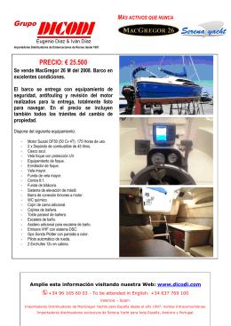 PRECIO: € 25.500