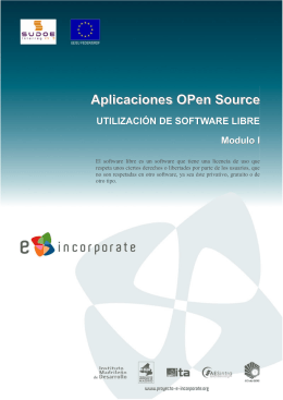 Aplicaciones OPen Source UTILIZACIÓN DE SOFTWARE LIBRE