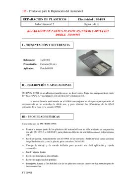 1/04/99 REPARADOR DE PARTES PLASTICAS
