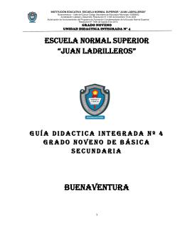 BUENAVENTURA - Escuela Normal Superior Juan Ladrilleros