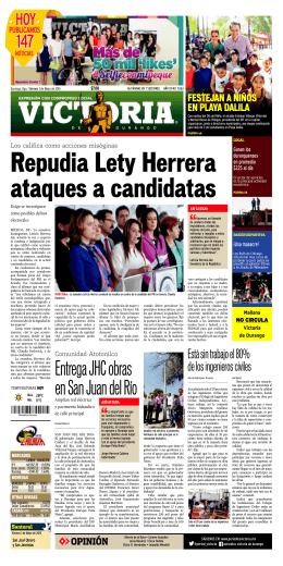 Entrega JHC obras en San Juan del Río