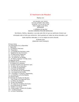 El Hechicero de Meudon - Hermanubis Martinista