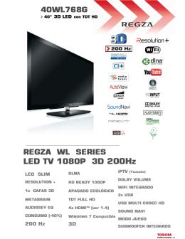 LED TV 1080P 3D 200Hz